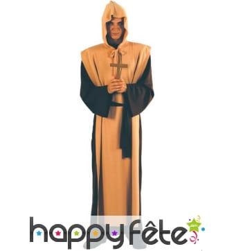 Déguisement sinistre prêtre
