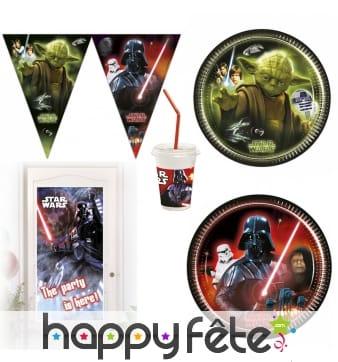 Déco Star Wars pour gouter d'anniversaire