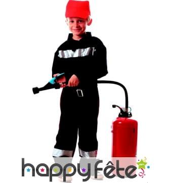 Déguisement traditionnel de pompier pour enfant