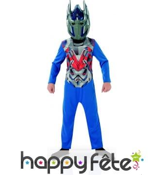 Déguisement Transformers de Optimus pour enfant