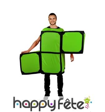 Déguisement Tetris lettre S, Morphsuit