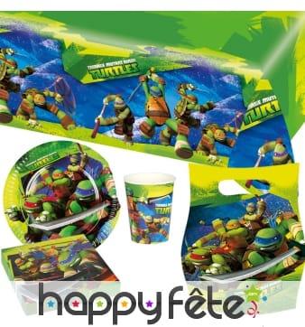 Décorations Tortues Ninja d'anniversaire