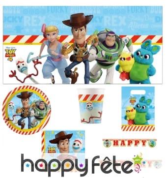 Déco Toy Story pour table d'anniversaire