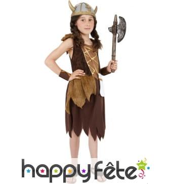 Déguisement viking femme enfant