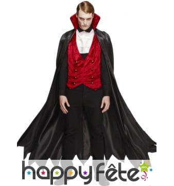Déguisement vampire longue cape