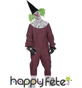 Déguisement zombie clown tueur