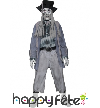 Déguisement zombie fantome pirate
