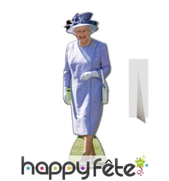 Elisabeth 2 robe violette taille réelle
