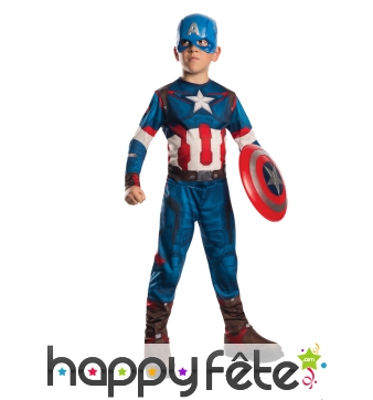 Ensemble captain America pour enfant
