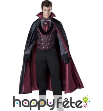 Elégant costume de comte de minuit pour homme