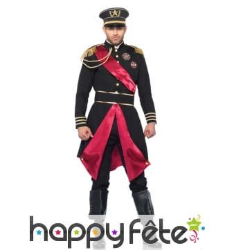 Elégant costume de général pour homme