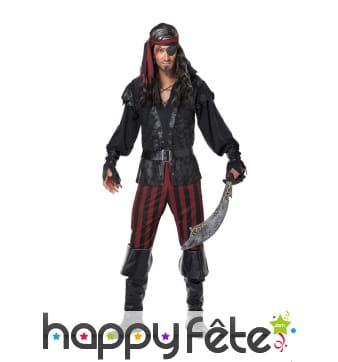 Elégant costume de pirate pour homme