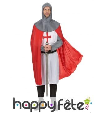 Ensemble de chevalier croisé pour homme