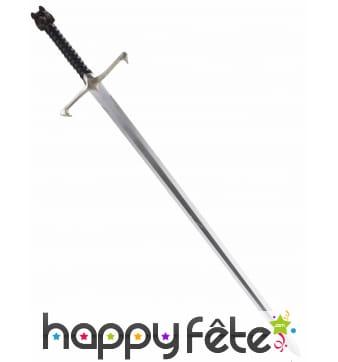 Epée de chevalier luxe de 88cm