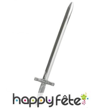 Epée de chevalier pour enfant, en plastique