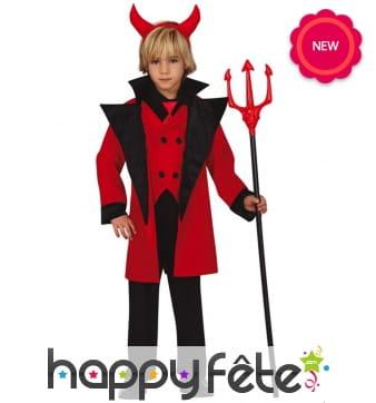 Elégant déguisement de diable pour enfant
