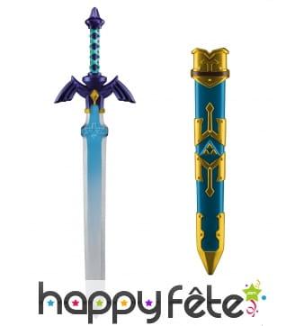 Epée de Link avec fourreau de 66 cm, Zelda