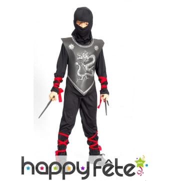 Ensemble de ninja dragon pour garçon