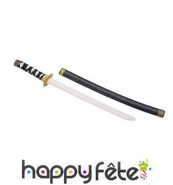 Epée de ninja avec fourreau, pour enfant