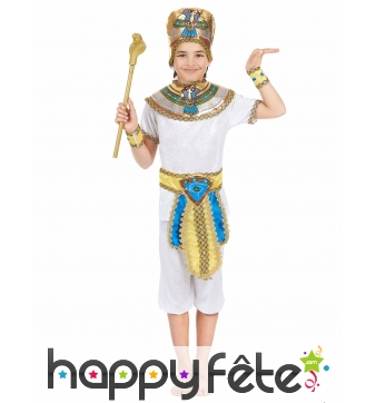 Ensemble de petit égyptien pour garçon