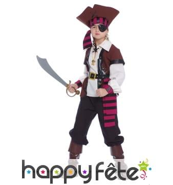 Ensemble de pirate pour garçon
