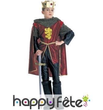 Ensemble de roi chevalier pour enfant