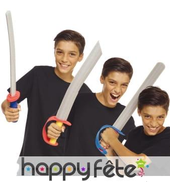 Epée en mousse pour enfant