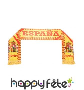 Echarpe Espagne pour supporter