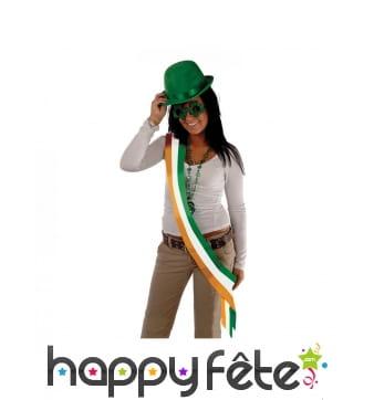 Echarpe irlandaise tricolore