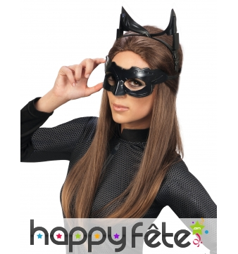 Ensemble luxe Masque et oreilles de Catwoman