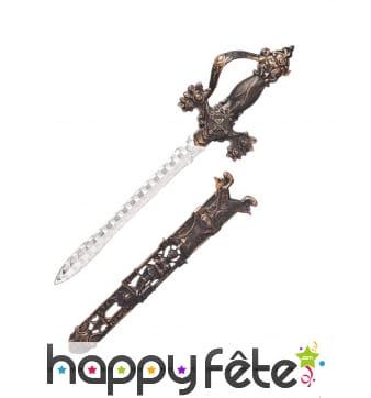 Epée médéviale adulte de 40cm
