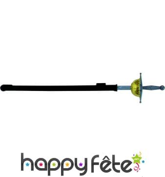 Epée mousquetaire avec fourreau