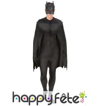 Ensemble masque et cape de Batman pour homme
