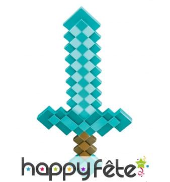 Epée Minecraft pour enfant