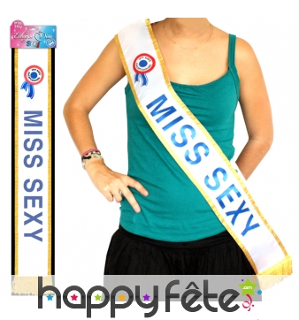 Echarpe Miss Sexy