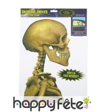 Electrostatique squelette de profil