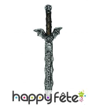 Epée squelette de 54cm