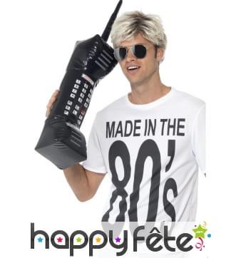 Enorme téléphone portable gonflable