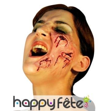 Fausses blessures de visage