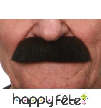Fausse brosse moustache brune