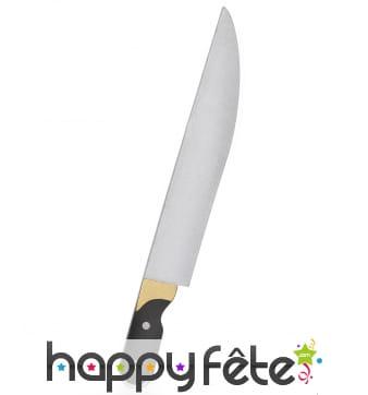 Faux couteau en mousse de 33 cm