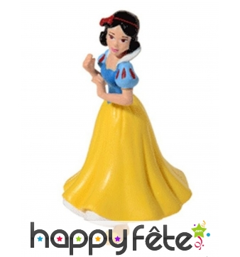 Figurine de Blanche Neige pour gâteau, 8cm