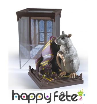 Figurine de Croûtard le rat de Ron, 18 cm