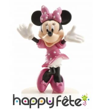 Figurine déco de Minnie pour gâteau de 7,5cm
