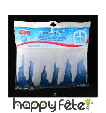 Frise de glacons blancs de 240 cm