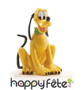 Figurine de Pluto de 7,5 cm pour gâteau