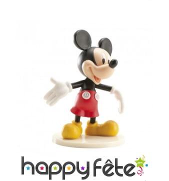 Figurine déco pour gâteau de Mickey 7,5cm