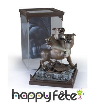 Figurine de Touffu le chien à 3 têtes de 18 cm