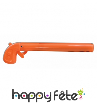 Faux long revolver orange