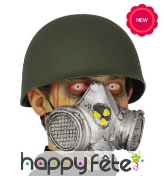 Faux masque à gaz nucléaire